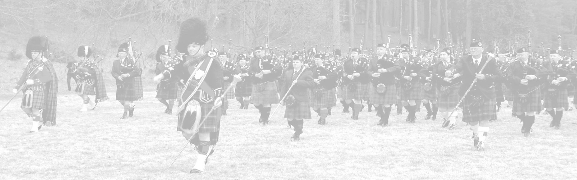 Pipes and Drums of the Scottish Highlands